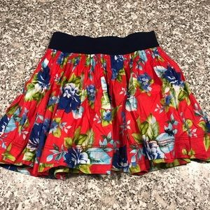 Ambercrombie & Fitch floral skirt sz XS GUC